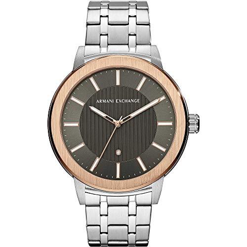 Armani Exchange Reloj para de Cuarzo con Correa en Acero Inoxidable AX1470