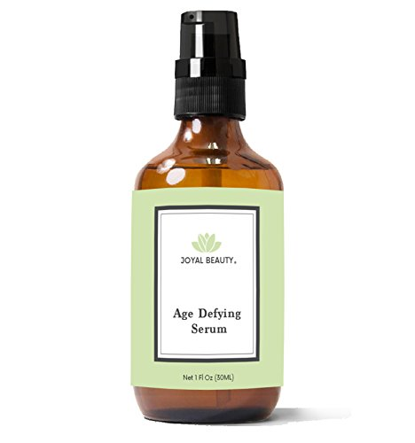 Organic Triple Active Age Defying Serum with Glycolic Acid+Salicylic Acid+Kojic Acid by Joyal Beauty for Face Skin Clearing Peel Exfoliating. Best for Oily Skin Acne Blackhead Whitehead Pore Dark Spot