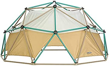 Lifetime Geometric Dome Climber with Attachable Canopy, Earth Tone, 10' Wide x 5' High