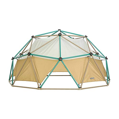 Lifetime Geometric Dome Climber with Attachable Canopy, Earth Tone, 10' Wide x 5' High, 60-Inch (90612)