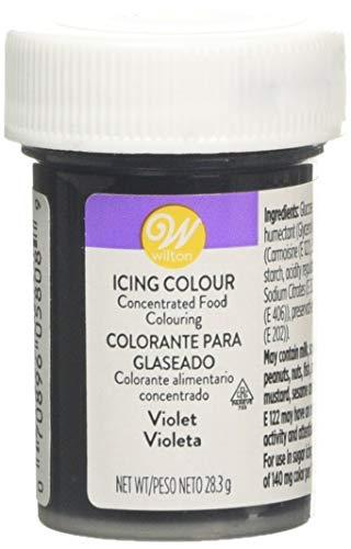 Wilton Colorante Alimenticio para Glaseado en Pasta, 28.3g, Color Violeta, 04-0-0034