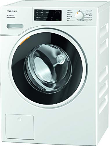 Miele Wsg363 Freestanding Washing Machine with Quick Powerwash, 9kg Load, 1400RPM Spin, White