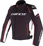 Chaqueta DAINESE Hombre Racing 3 D-Dry Black-Black-Red Talla 48
