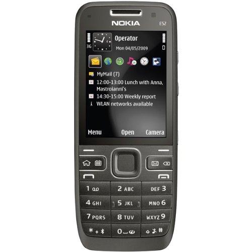 Nokia E52 Metal Black Original