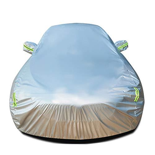 Autoabdeckung Kompatibel mit Skoda Superb Allwetter-Schutz Auto gebaut in Flusen verdicken wasserdicht volle Außenverkleidungen UV-Schutz Automobile Auto-Außenunterstände Sonnenschutz Hitzeschutz geba