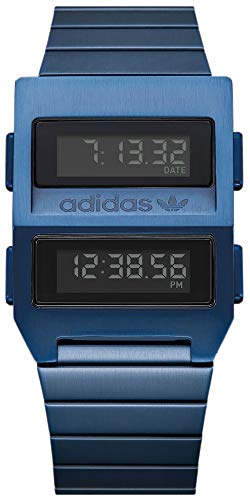 adidas Reloj Digital para Hombre de con Correa en Acero Inoxidable Z20-605-00