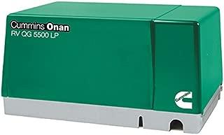 Cummins Onan 5.5HGJAB-1270 Rv Qg 5500 Lp - 5500 Watt 120V Single Phase 60Hz Fixed Mount Lp Generator Set Fo