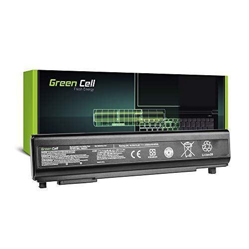 Green Cell® Standard Serie PA5162U-1BRS Laptop Akku für Toshiba Portege R30 R30-A (6 Zellen 4400mAh 10.8V Schwarz)