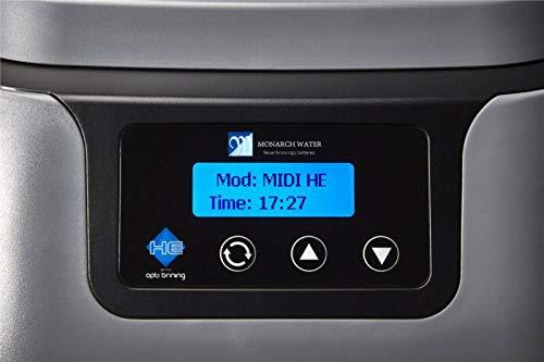 Monarch Midi HE FreeFlow Water Softener + 22mm Hoses - Combi Pressurised Kit