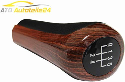 Schaltknauf 5-Gang Holz Braun E36 E46 E90 E91 E92 E93 E60 E39 E61 E63 E64 E83 E53