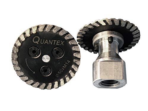 Diamant Trennscheibe mit Flansch M14 Durchmesser 50 mm