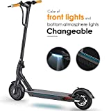 "TOMOLOO L1 Electric Scooter with Unique Honeycomb Tire Design, 18.6 Mile Long-Range, up to 15.5 mph, Portable & Foldable E-Scooter with 8.5"" Tires, Cruise Control, Headlight, Includes Speedometer"