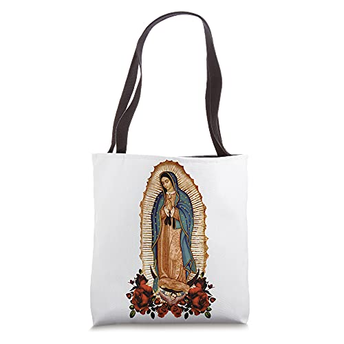 La Virgen de Guadalupe Our Lady of Guadalupe Decorative Tote Bag