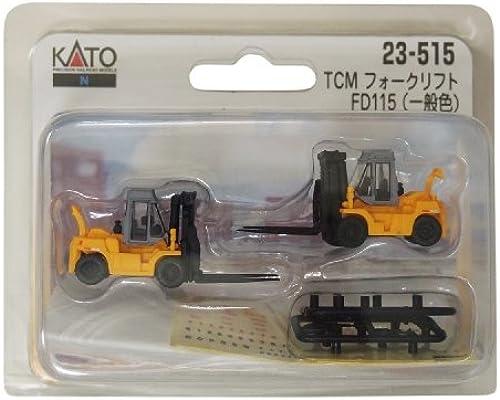 Ven a elegir tu propio estilo deportivo. Kato N Gauge TCM Forklift FD115 Standard Color Color Color (2pcs.) (Kato PlaRail Model Train) by Kato  distribución global