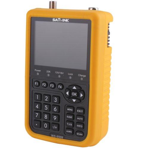 Great Price! SATlink WS-6909 3.5 - Inch DVB-SandDVB-T Combo Satellite Signal Finder Meter