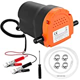 OKOOLCAMP Oil Change Pump Extractor -12V 60W Marine Oil Extractor Pump for Boat Truck RV ATV Diesel Scavenge Suction Pump (80W)