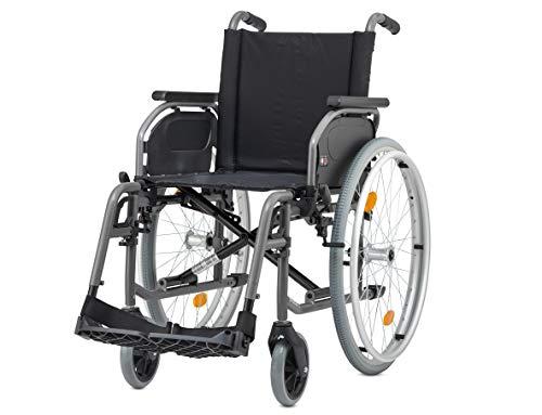 Bischoff Rollstuhl S-Eco 2 Sitzbreite 52 cm Faltrollstuhl Reiserollstuhl Transportrollstuhl