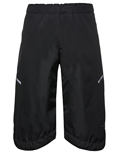 VAUDE Accessories Bike padded Chaps, Isolierende Überzieh-Hose für den Radsport, black, XL/2XL, 412580105600