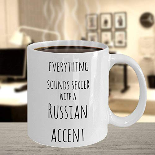 LETE You will always be my best gift Funny Russian Accent Gift Mug   Cute Russian   Sexy Russian Gifts   Cool Russian Mugs   Russian Roots   from Russia   Russian Heritage