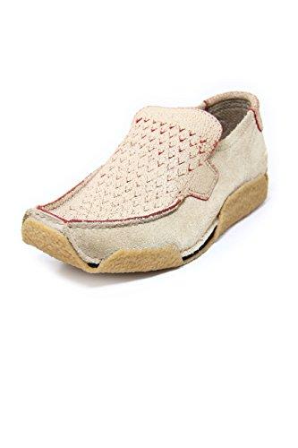 DIESEL Suede Loafers with Crepe Rubber MOD. Buster Mushroom/Bloody (43 EU, Beige)