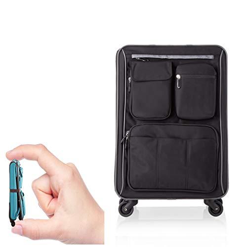 Koffer handbagage 4 rollen handbagage met spinner wielen nylon bagage 22 inch 26 inch Oxford doek universele trolley vouwfiets ultralicht mannen en vrouwen linnen ritssluiting