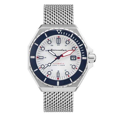 Orologio da uomo – Automatico – Spinnaker – Dumas – 44 mm – Cassa – Cinturino in acciaio argentato – SP-5081-33
