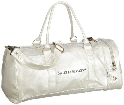 Dunlop Weekender 700602, Unisex - Erwachsene Reisetaschen, Weiss (White), 50X25X27 cm (B x H x T)