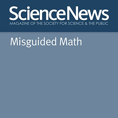 Misguided Math audiobook cover art
