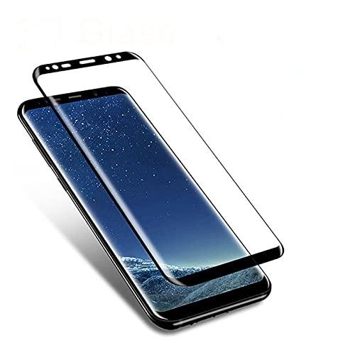 YJHL QIQIBH adecuado para S-amsung S8 S9 Plus S10 S20 S21 Ultra S6 S7 3D vidrio templado curvado para S-amsung Note 8 9 10 Note 20 Ultra Protector de pantalla Película de vidrio templado