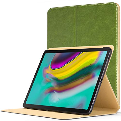 Forefront Cases Smart Cover for Galaxy Tab S5e 10.5 2019 | Magnetic Protective Case Cover & Stand for Samsung Galaxy Tab S5e 10.5 2019 Model | Smart Auto Sleep Wake Function | Slim Lightweight | Green