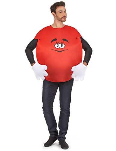 Fyasa 867344Sweetie disfraz, rojo, grande
