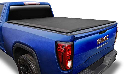 """Tyger Auto T1 Roll Up Truck Tonneau Cover TG-BC1C9006 Compatible with 2014-2018 Chevy Silverado / GMC Sierra 1500; 2019 LD/Limited Only Fleetside 5'8"""" Bed 