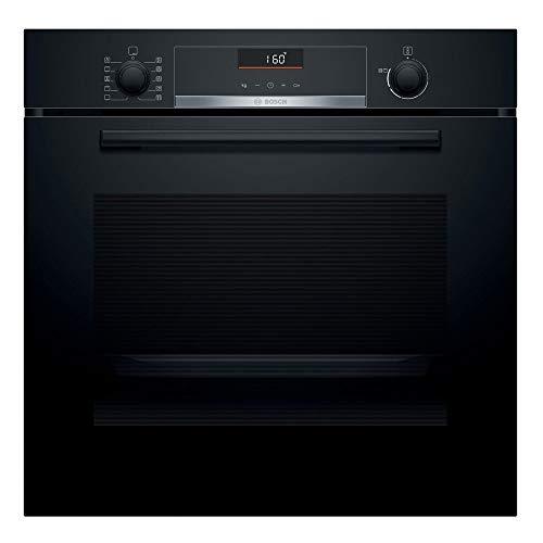 Bosch Serie 6 HBA5360B0 - Horno multifunción, 60 cm, 3400 W, Autolimpiable, 7 funciones, Bloqueo de seguridad, Color negro [Clase de eficiencia energética A]