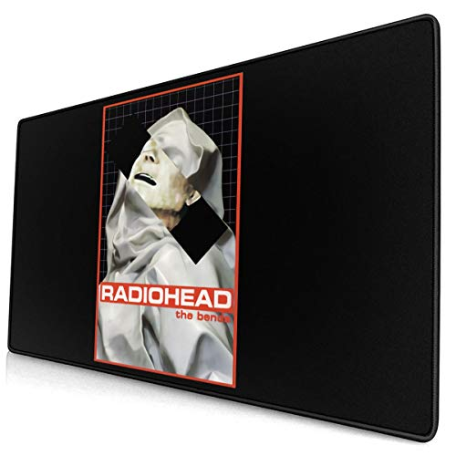 9.8x11.8 InChes Non-Slip Base for Work and Play Office and Home Mouse Pad with Stitched Edges MillicentCobb Radiohead Mouse Pad