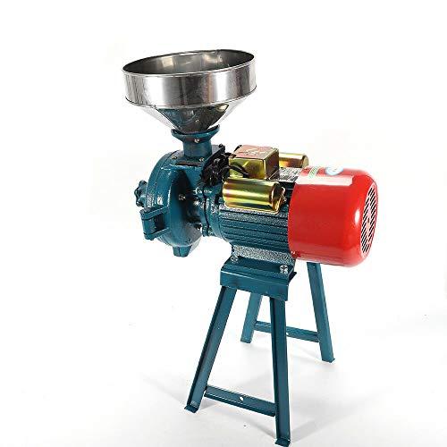 OUKANING Máquina trituradora eléctrica de 1500 vatios Molino de Cereales Secos Molino de arroz Arroz Maíz Maíz Molino de Trigo Máquina de Polvo