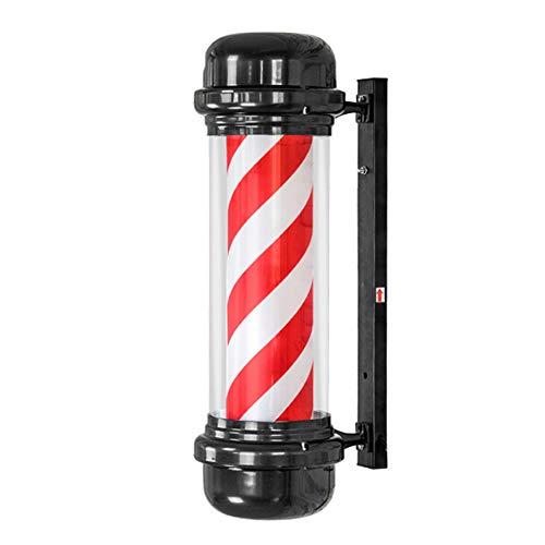 WHCCL Barbiere LED wandlamp met strepen Bianche en Rosse 28 inch / 28 inch/rood/verlicht/waterdicht/binnen en buiten