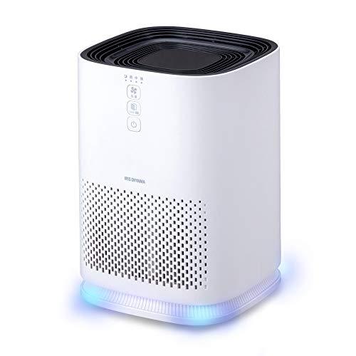 アイリスオーヤマ 空気清浄機 10畳 脱臭 集じん ホコリ 花粉 空気 ライト おやすみモード 静音 IAP-A25-W