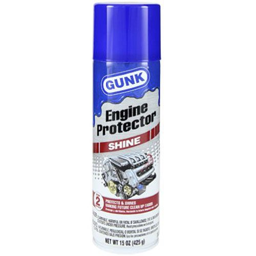 Gunk CEB1 Engine Shine Protector and Detailer, 15 Oz