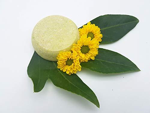 Shampoo Bar Green Tea – bei schnell nachfettendem Haar und trockenen Spitzen, vegan, festes Shampoo von kleine Auszeit Manufaktur