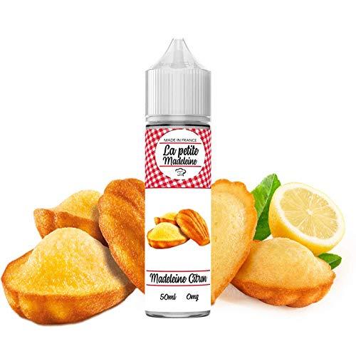 E-liquide La petite madeleine 50 ml 50/50 PG/VG - Sans nicotine ni tabac