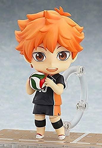 HQYCJYOE Personajes de Anime Modelo Q Versión PVC Dibujos Animados de Dibujos Animados Voleibol Boy Nendoroide Decoración de Escritorio Estatuilla Colección Muñeca 10cm