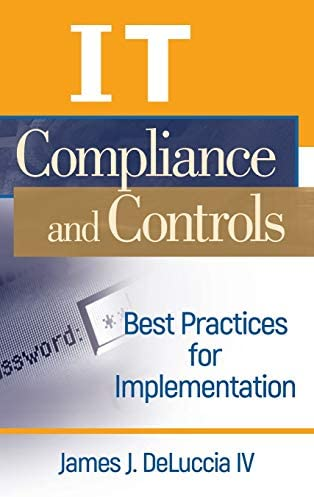 IT Compliance and Controls Best Practices for Implementation product image