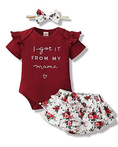 Newborn Baby Girl Clothes Romper...