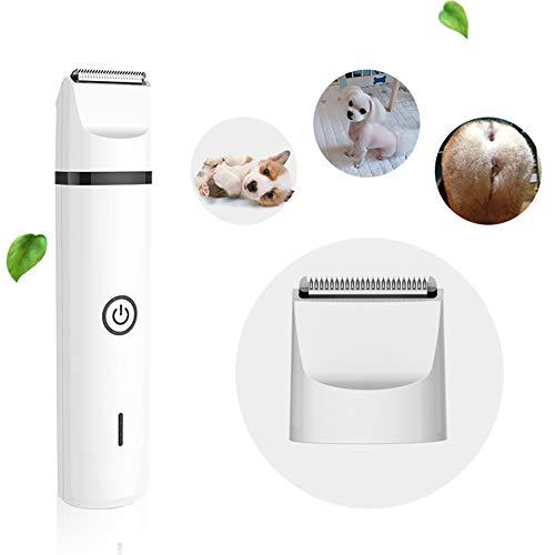 Snoerloze tondeuse voor huisdieren, honden en katten, ultrastille elektrische nagelvijl voor het trimmen en glad maken van huisdierenpoten voor kleine/middelgrote/grote honden
