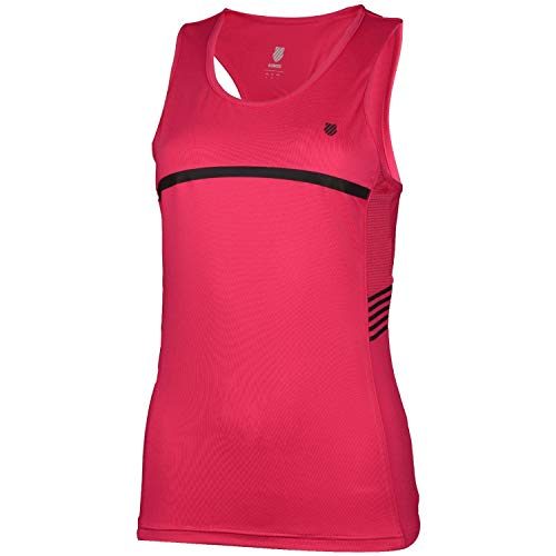 K-Swiss KS TAC Hypercourt Speed Camiseta de Tenis, Mujer,...