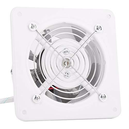 GYZCZX Ventilador de Escape de 4 Pulgadas, Extractor de 25 W, montado en la Pared, bajo Ruido, hogar, baño, Cocina, ventilación, ventilación