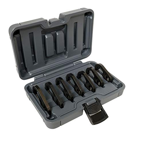 Lisle 61500 17 Piece Heavy Duty End Cap Wrench Set