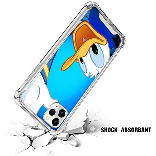 Disney Collection Disney Collection Clear Anti Fall Phone Case Iphone 11 Pro Max Donald Duck Wallpaper Reinforced Tpu Bumper Protection Anti Scratch Clear Tpu Crystal Edges Pc Back Ultra Thin From Amazon Daily