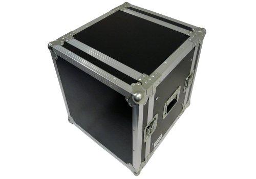 deetech 10 HE Flightcase/Effektcase/Flight Rack/Double Door Case 9 mm