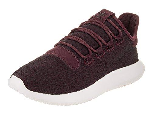 Adidas Tubular Shadow Sneaker für Herren, - weiß (Maroon White) - Größe: 41 1/3 EU